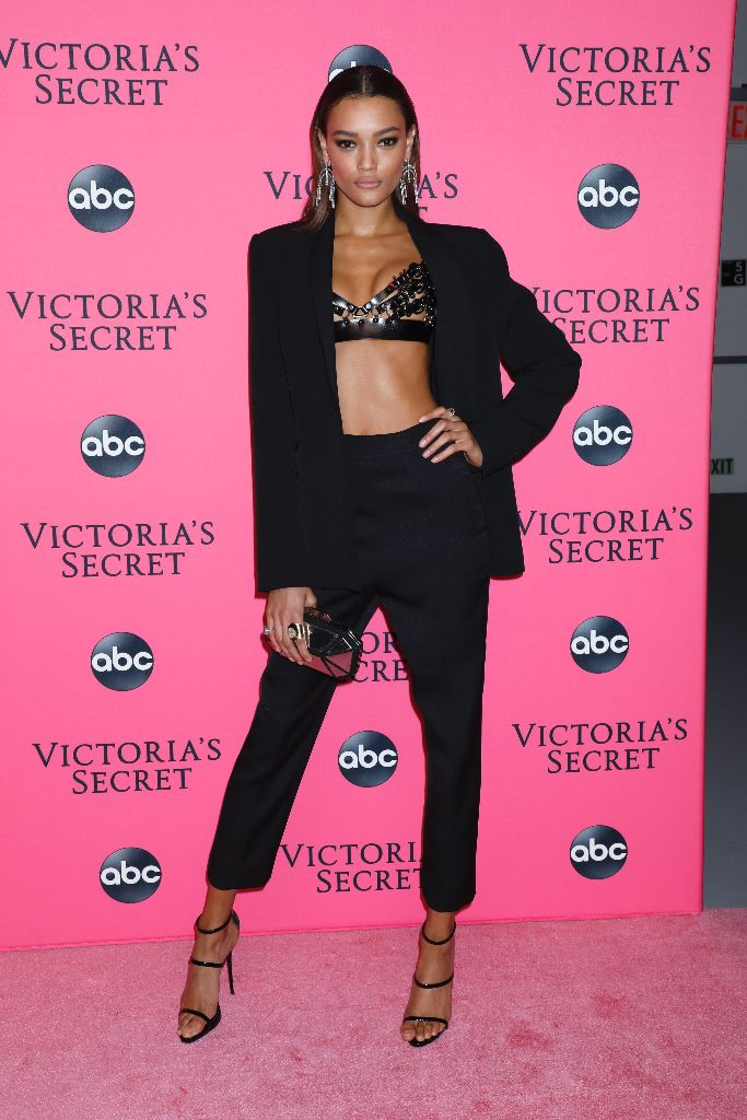 Victoria's Secret Fashion Show, Viewing Party, lameka fox, Giuseppe Zanotti,
