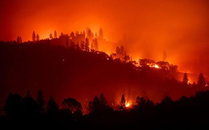 camp fire, wildfire, california