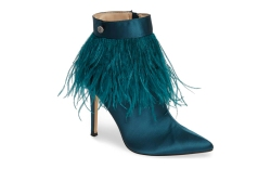 Danella Feather Bootie