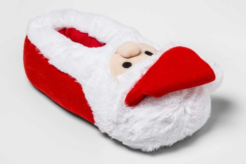 Wondershop Holiday Santa Bootie Slippers