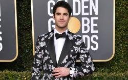 Darren Criss, golden globes, red carpet,