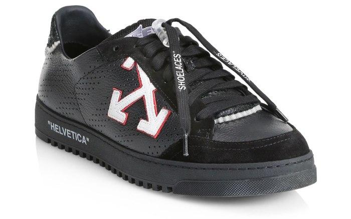 saks, off-white, super bowl, sneakers