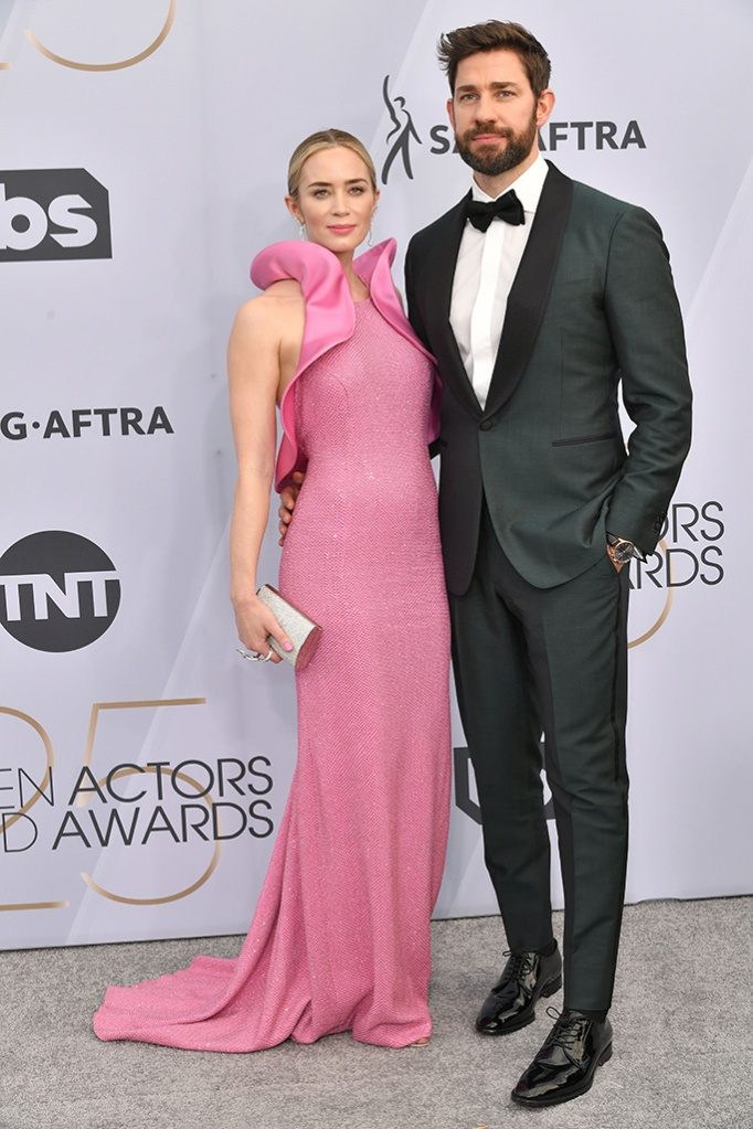 Emily Blunt and John Krasinski25th Annual Screen Actors Guild Awards, Arrivals, Los Angeles, USA - 27 Jan 2019