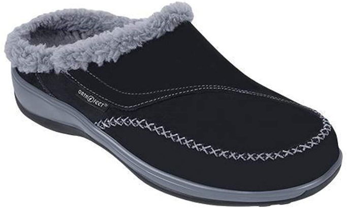 Orthofeet Charlotte Slipper, best slippers with arch support