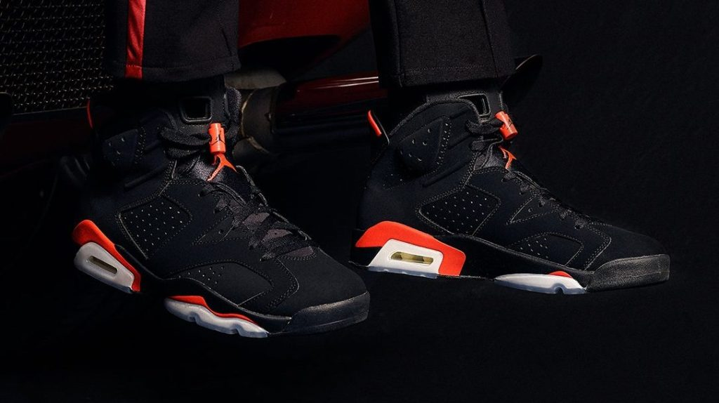 fan fino ad ora mensile  Air Jordan 6 'Infrared' Is Releasing Only at This NYC Store – Footwear News