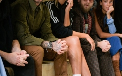David Beckham, Karlie Kloss and Jonah Hill at Adidas MakerLab