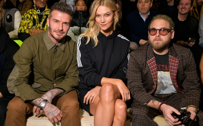 David Beckham, Karlie Kloss, Jonah Hill, adidas makerlab show