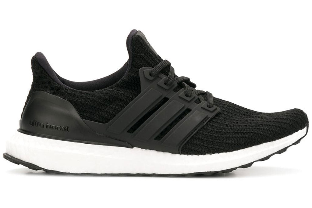 Adidas Ultraboost, black sneakers