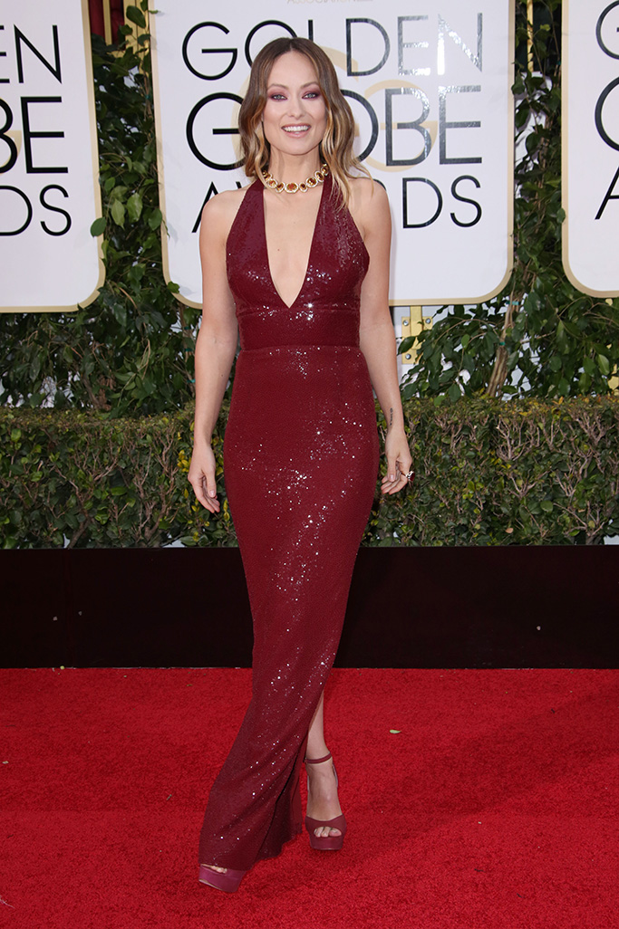 Olivia Wilde73rd Annual Golden Globe Awards, Arrivals, Los Angeles, America - 10 Jan 2016WEARING MICHAEL KORS