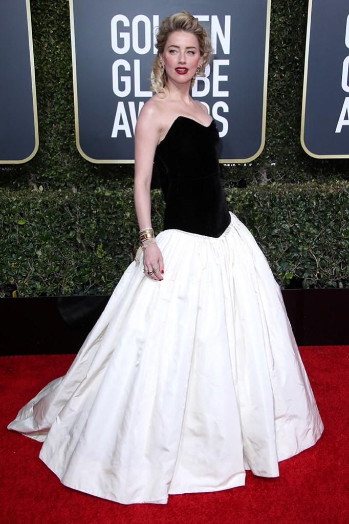 Amber Heard76th Annual Golden Globe Awards, Arrivals, Los Angeles, USA - 06 Jan 2019