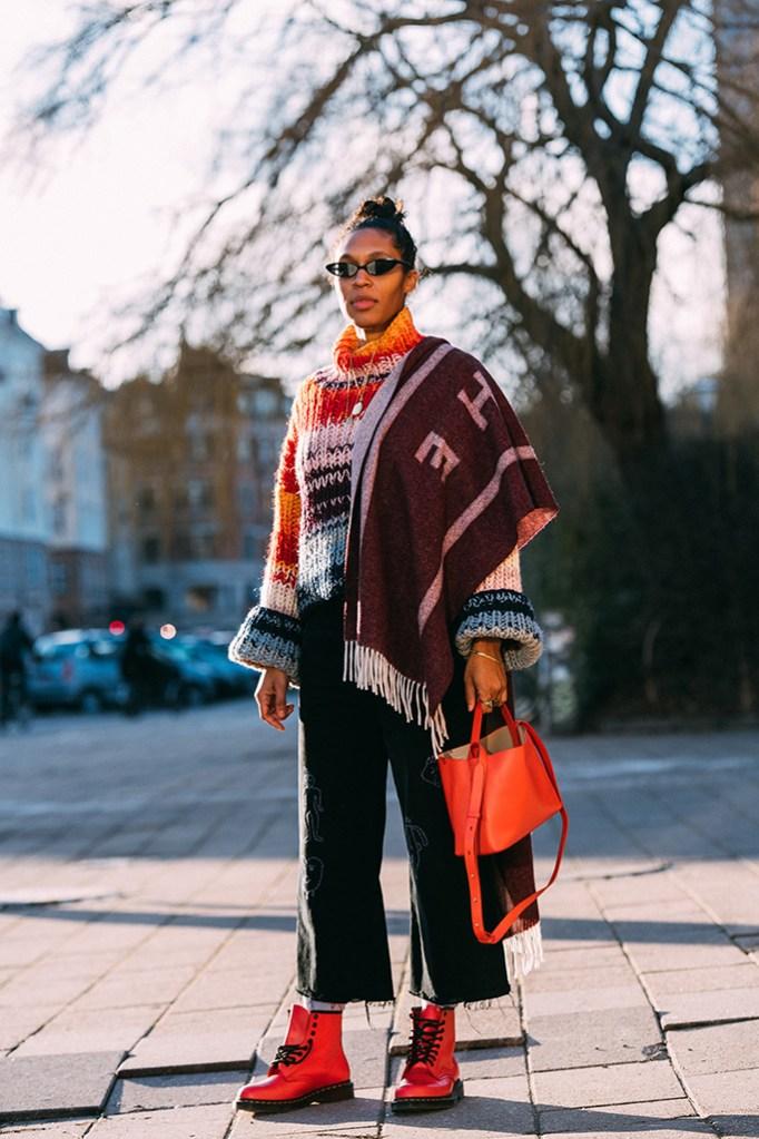 Amelia Hoy, dr. martens, workboots, street style, copenhagen fashion week