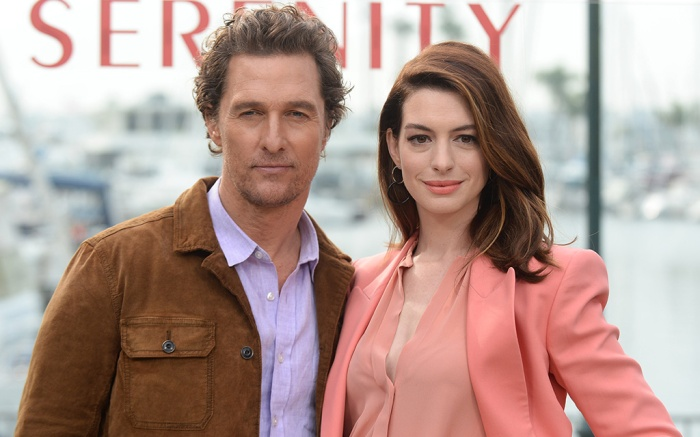 Matthew McConaughey and Anne Hathaway'Serenity' film photocall, Los Angeles, USA - 11 Jan 2019Serenity - Photo Call