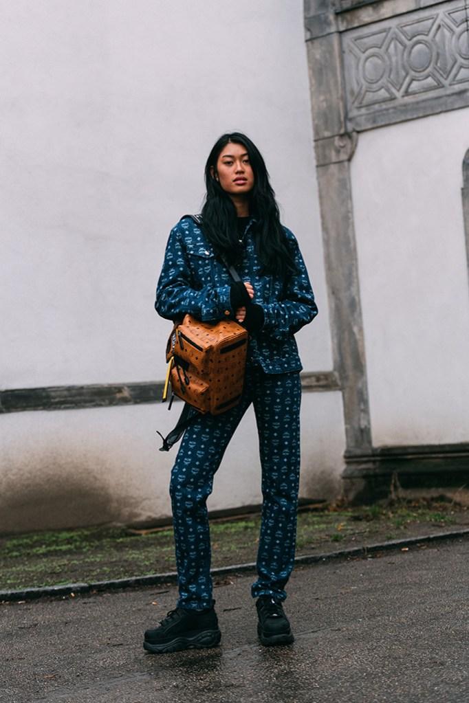 Anuthida Ploypetch, berlin fashion week, mcm, buffalo london, street style, off-duty style, model