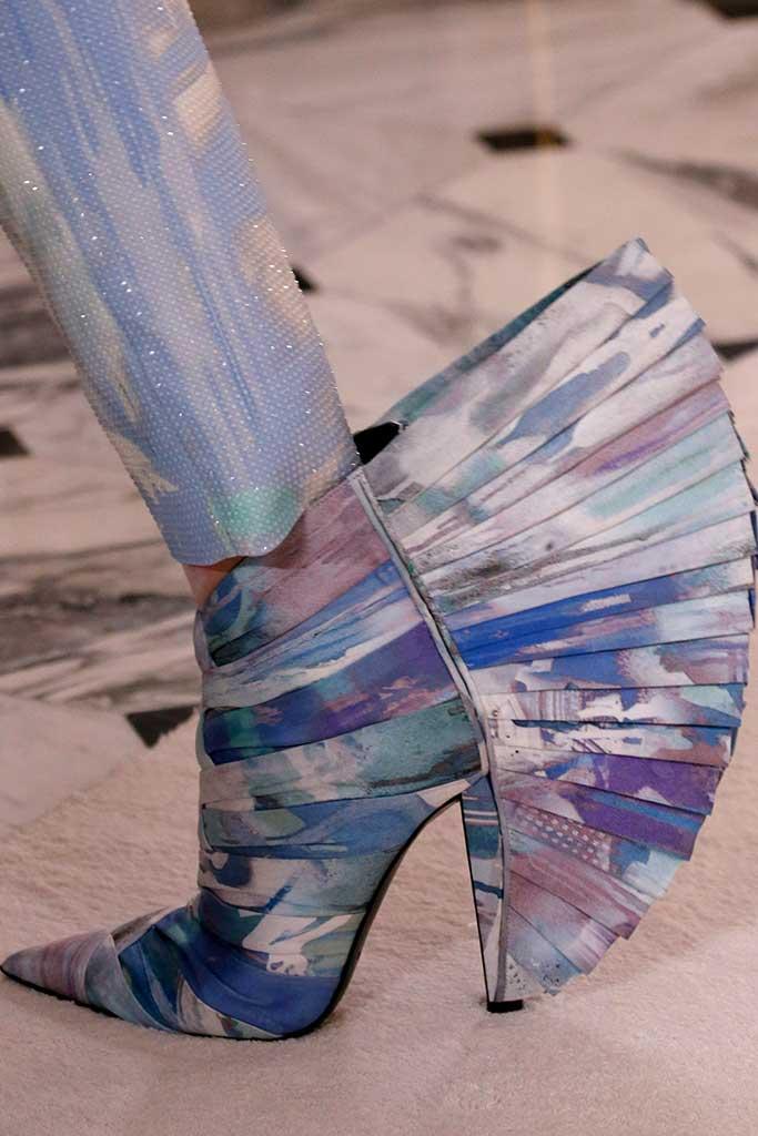 Balmain couture spring '19.