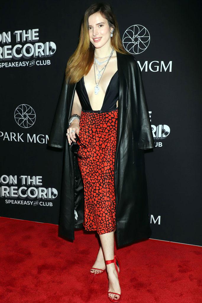 Bella Thorne, las vegas, red carpet, celebrity style