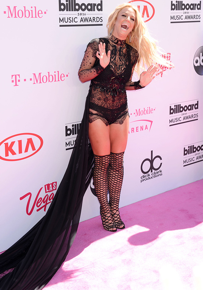 Britney SpearsBillboard Music Awards, Arrivals, Las Vegas, America - 22 May 2016WEARING REEM ACRA Billboard Music Awards