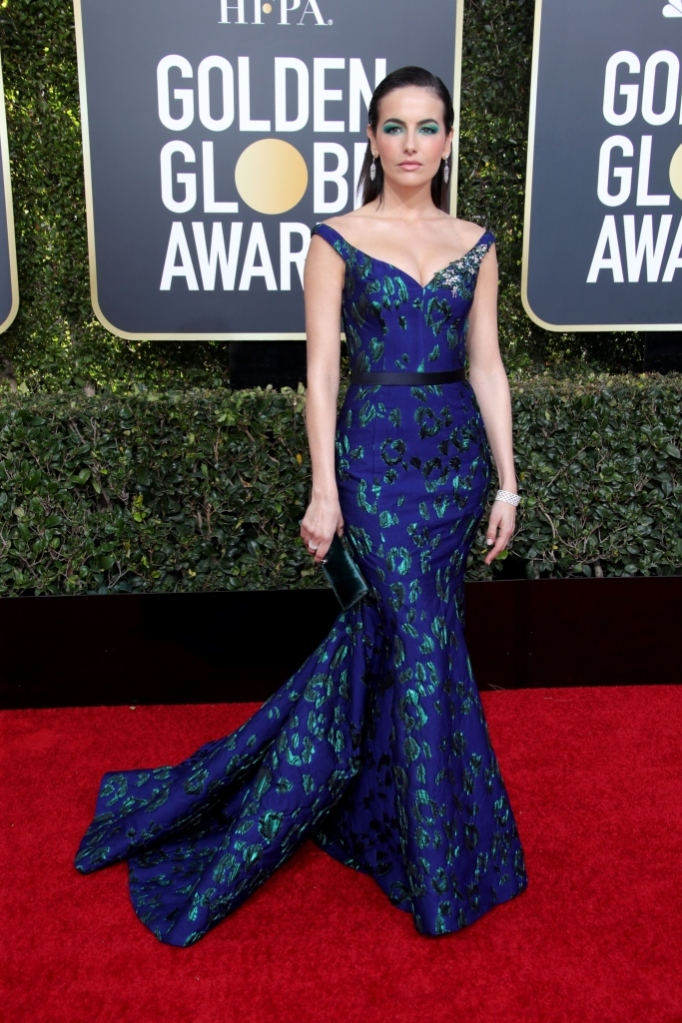 Camilla Belle, red carpet, golden globes 2019, awards show style