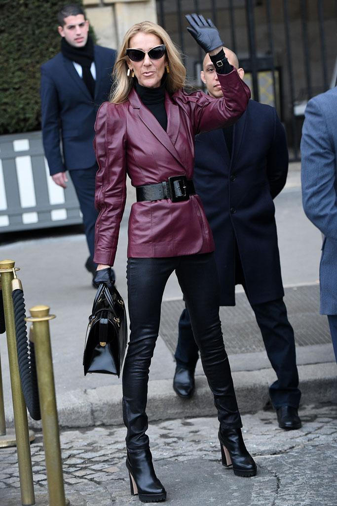 Céline Dion, paris, haute couture fashion week