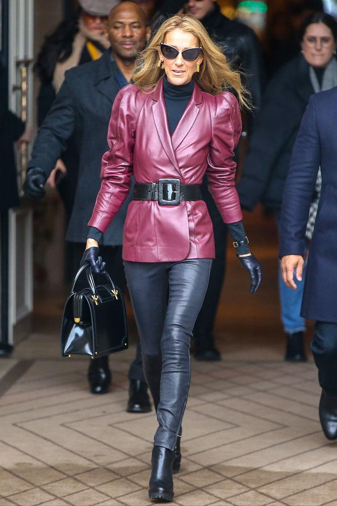 Céline Dion, paris haute couture week, celebrity style, street style