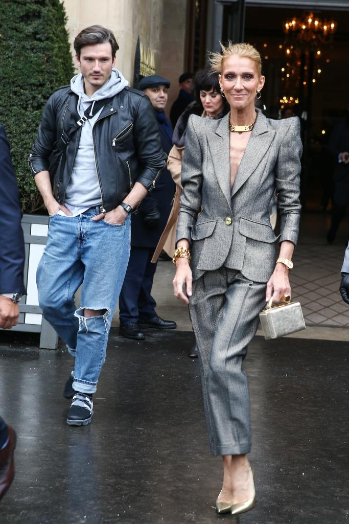celine dion couture fashion week, Pepe Munoz
