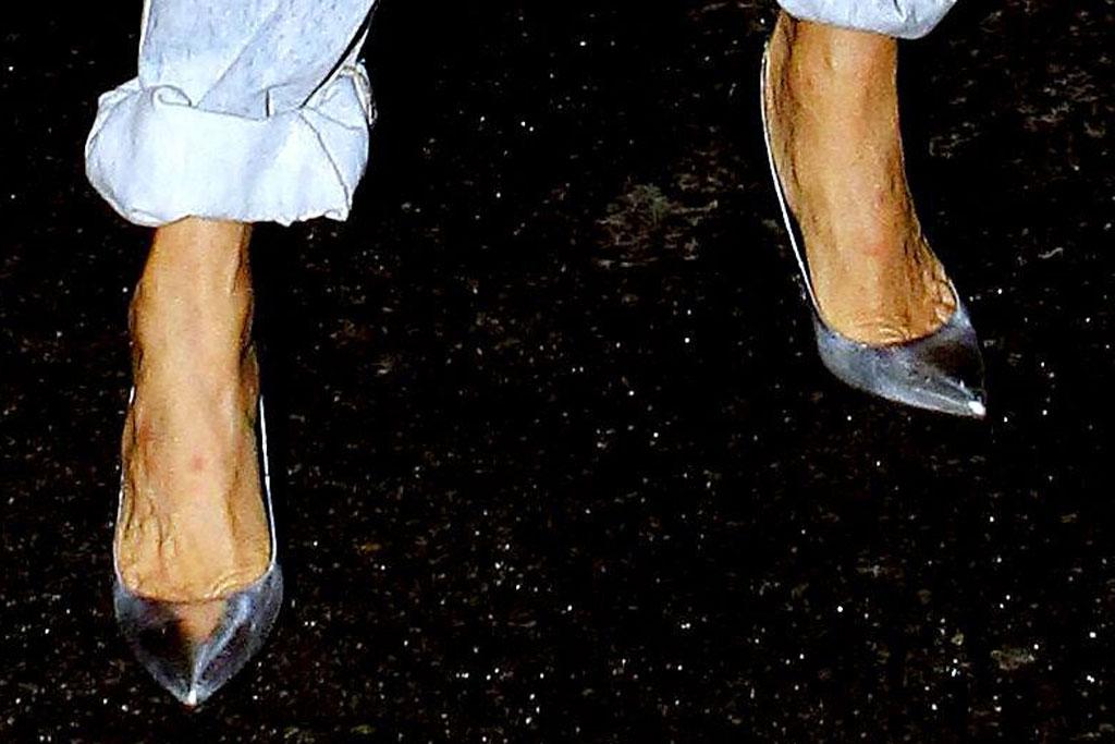 Céline Dion , high heels, paris, l'oreal