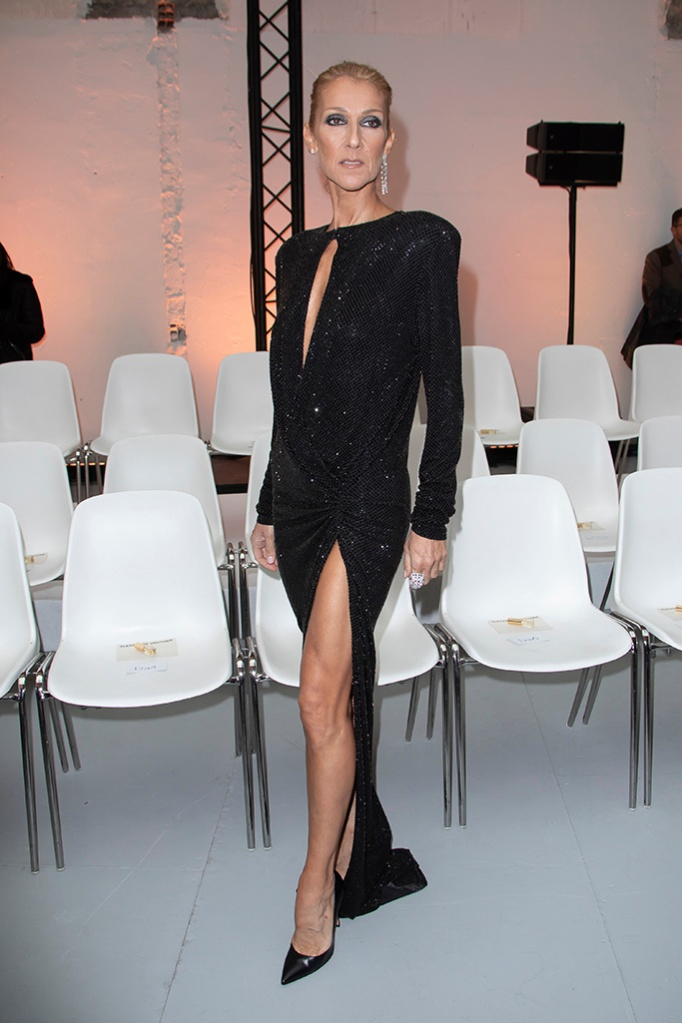 Celine Dion in the front rowAlexandre Vauthier show, Front Row, Spring Summer 2019, Haute Couture Fashion Week, Paris, France - 22 Jan 2019
