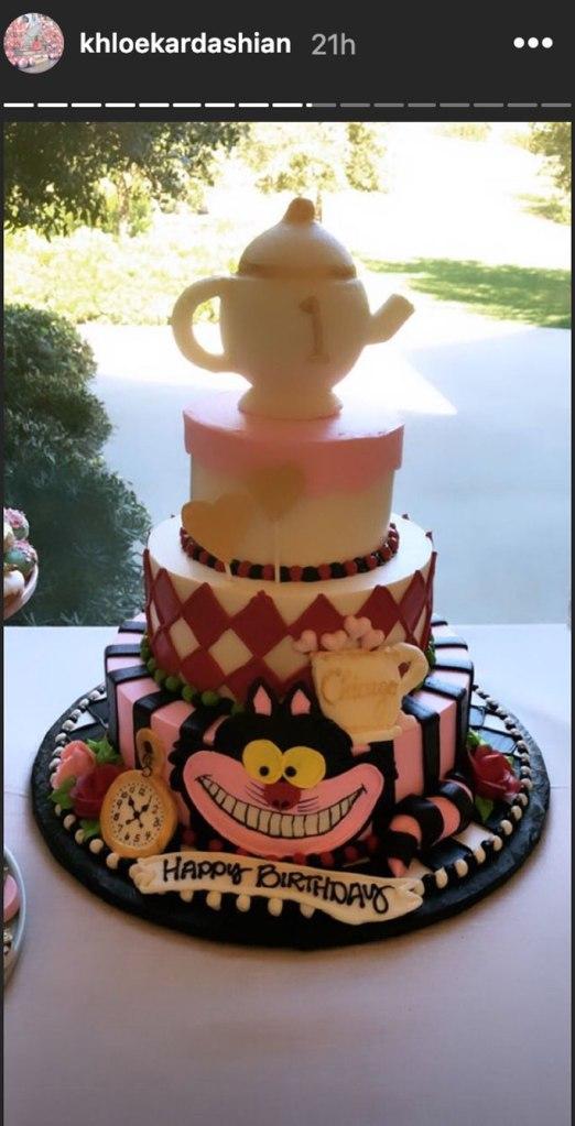 chicago west, birthday party, cake, first birthday