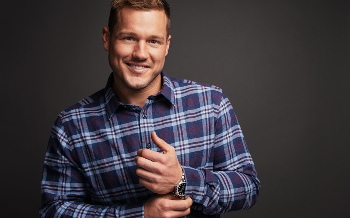 Colton Underwood photographed at the PMC Studio in Los Angeles
