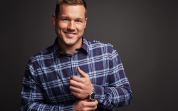 Colton Underwood photographed at the PMC