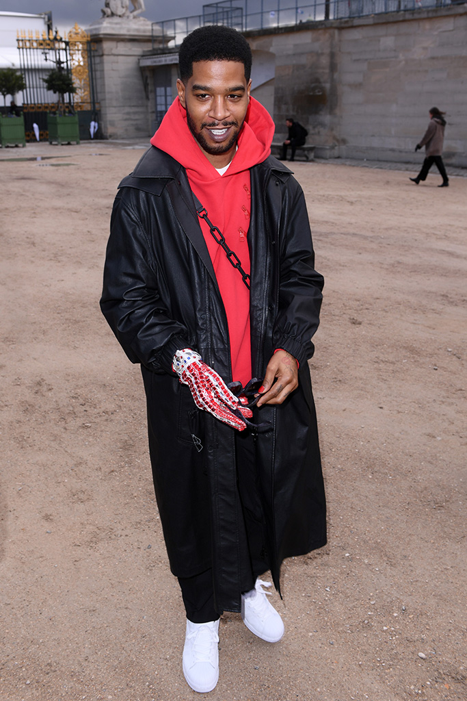 Kid Cudi, adidas superstar sneakers, Louis Vuitton show, Arrivals, Fall Winter 2019, Paris Fashion Week Men's, France - 17 Jan 2019