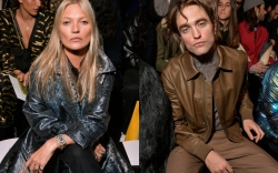 dior homme, kate moss, robert pattinson,