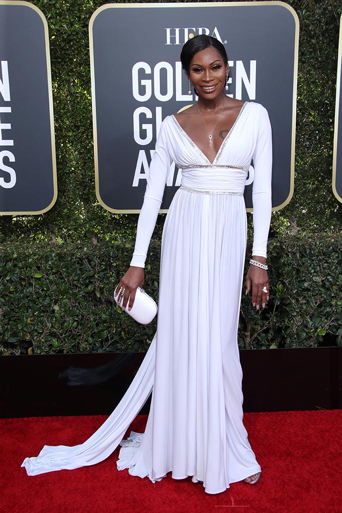 Dominique Jackson 76th Annual Golden Globe Awards, Arrivals, Los Angeles, USA - 06 Jan 2019