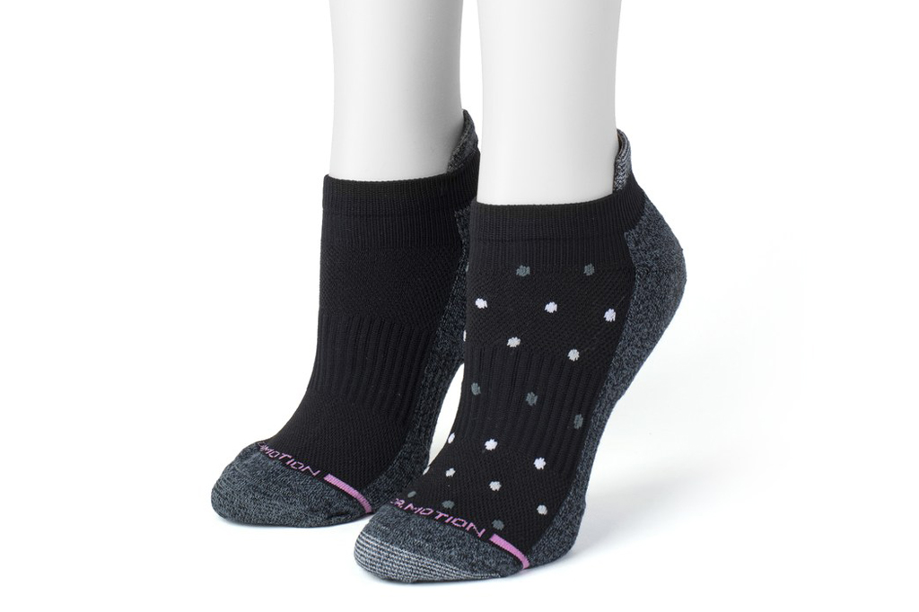 Dr. Motion Compression Ankle Socks