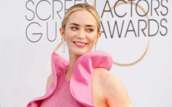Emily Blunt michael kors collection dress,