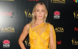 emily blunt, orange dress, AACTA International