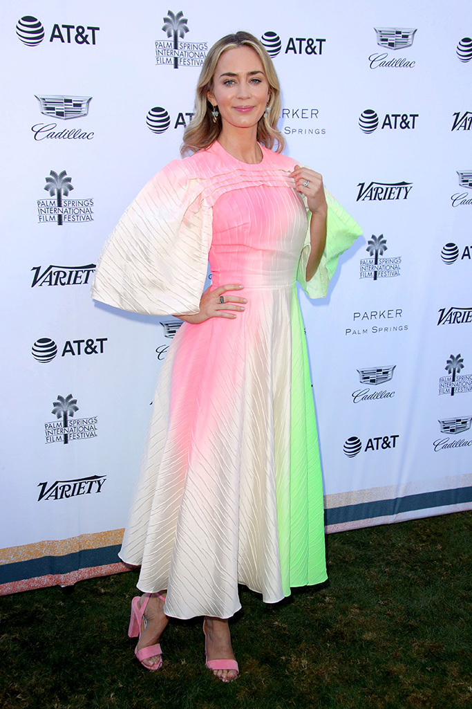 Emily BluntVariety's Creative Impact Awards and 10 Directors to Watch Brunch, Arrivals, Palm Springs, USA - 04 Jan 2019