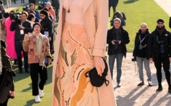 Christian Dior Haute Couture Front Row