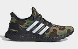 Bape x Adidas Ultra Boost Green