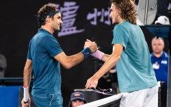 Stefanos Tsitsipas, Roger Federer, Australian Open,