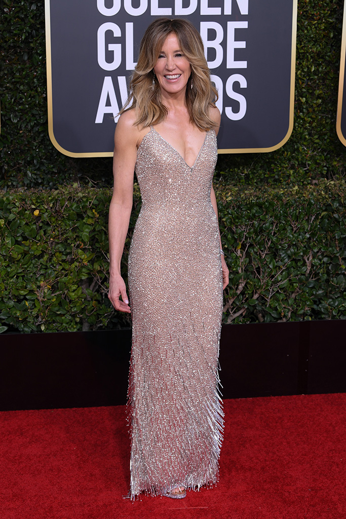 Felicity Huffman76th Annual Golden Globe Awards, Arrivals, Los Angeles, USA - 06 Jan 2019