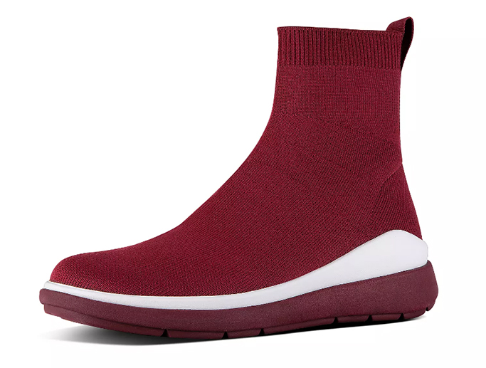 FitFlop Rapid Luxe Knit Sock Booties