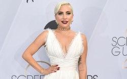 Lady Gaga, red carpet, sag awards,