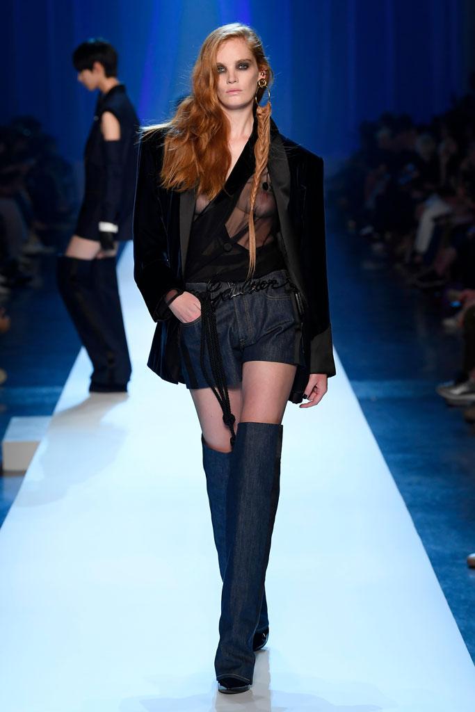 Jean Paul Gaultier show, runway, haute couture, fashion week, fall 2018