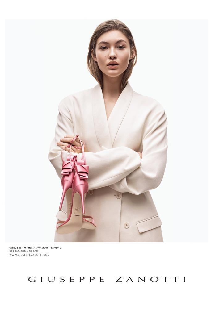 Giuseppe Zanotti Spring 2019 Ad Grace Elizabeth