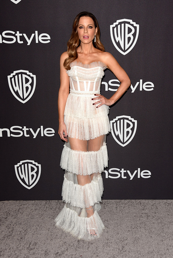 Kate Beckinsale InStyle and Warner Bros Golden Globes After Party, Arrivals, Los Angeles, USA - 06 Jan 2019