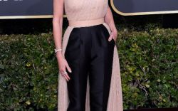 Celebs in Sandals at the 2019 Golden Globes