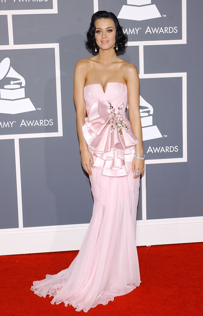 Katy Perry51st Annual Grammy Awards, arrivals, the Staples Center, Los Angeles, America - 08 Feb 2009