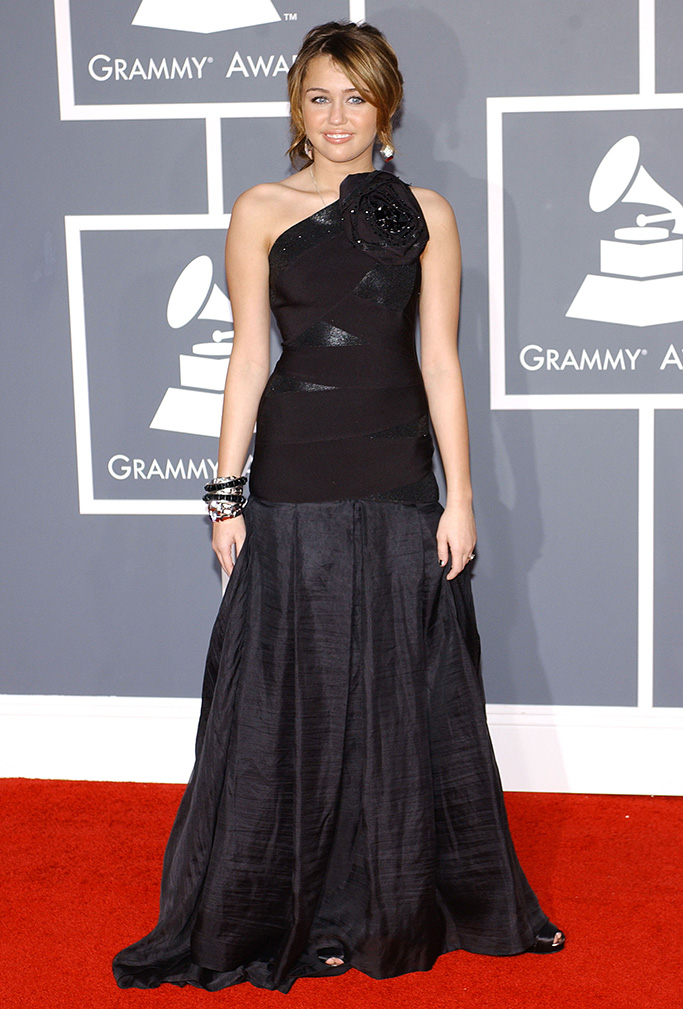 Miley Cyrus51st Annual Grammy Awards, arrivals, the Staples Center, Los Angeles, America - 08 Feb 2009