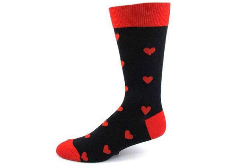 Hearts Everywhere Socks