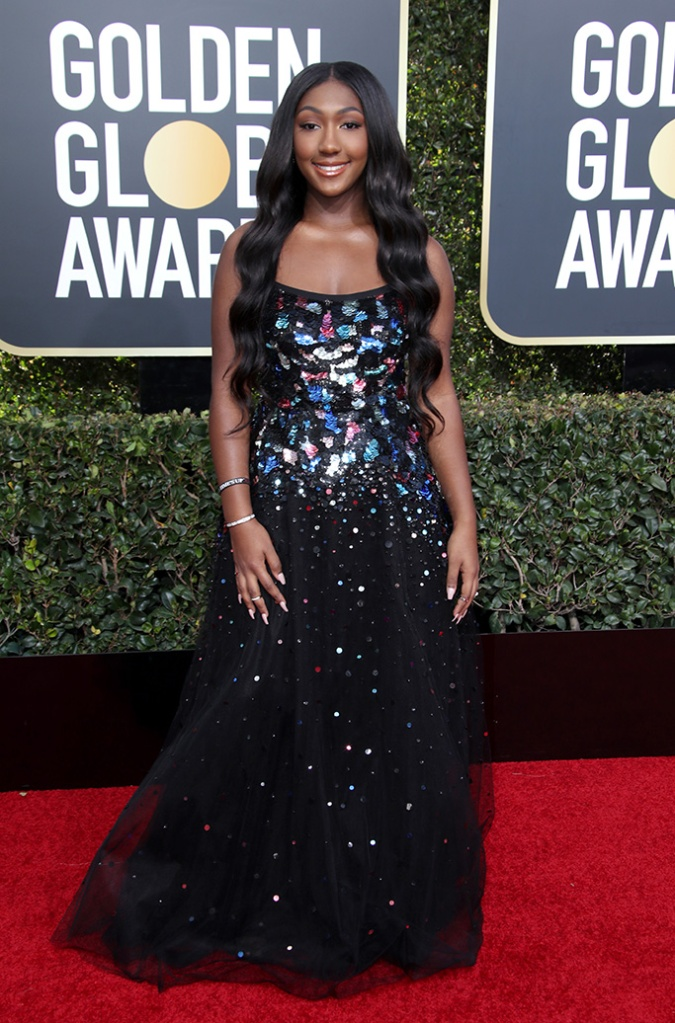 Isan Elba, 76th Annual Golden Globe Awards, Arrivals, Los Angeles, USA - 06 Jan 2019